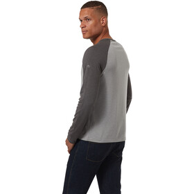 Craghoppers First Layer Sweat À Manches Longues Homme, qarrry grey marl/black pepper